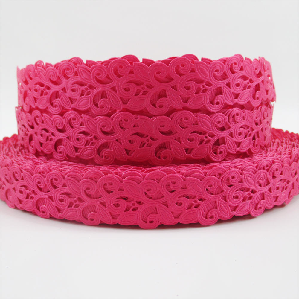 pink party wedding floral ribbon